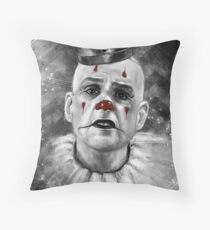 A study in (almost) b&w Throw Pillow