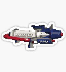 Splatoon 8-Bit Splattershot Pro Sticker