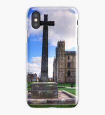 Light Infantry Memorial Cross iPhone Case