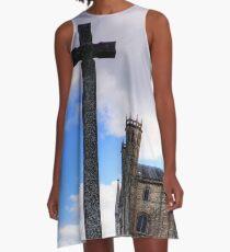 Light Infantry Memorial Cross A-Line Dress