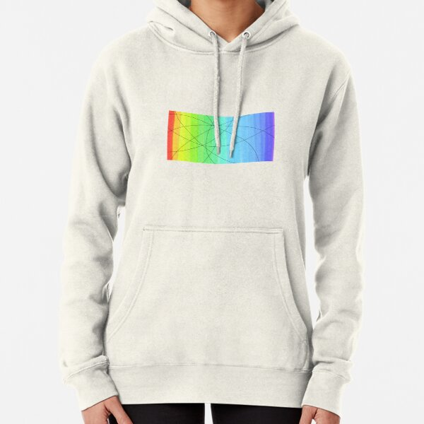 Rainbow Glass Pullover Hoodie