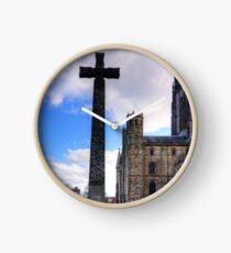 Light Infantry Memorial Cross Clock