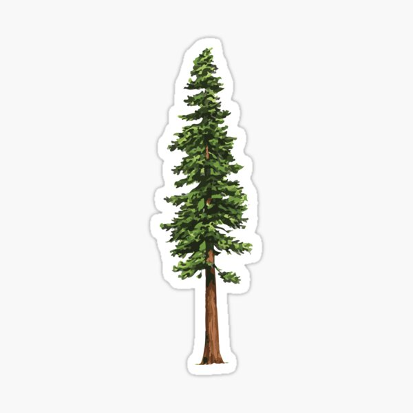 The Mighty Pine Sticker