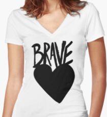 Braveheart Women's Fitted V-Neck T-Shirt