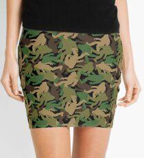 Bigfoot Camouflage Mini Skirt