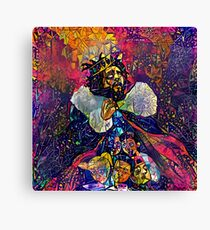 Abstract KOD Canvas Print