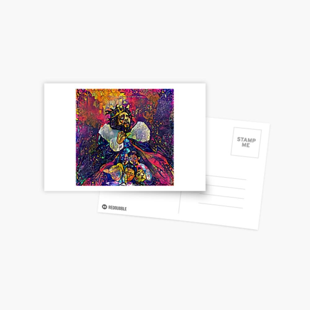 Abstract KOD Postcard