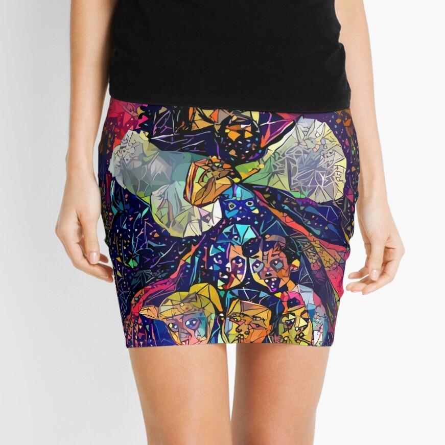 Abstract KOD Mini Skirt