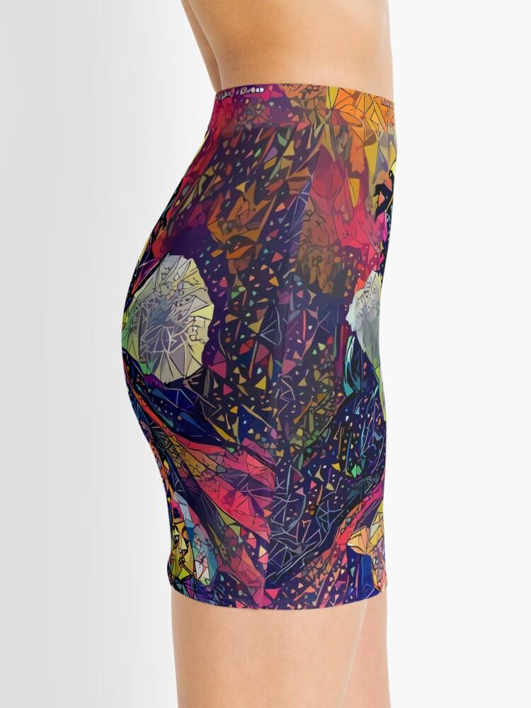Alternate view of Abstract KOD Mini Skirt