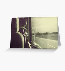 Goodbyes are not forever... Greeting Card