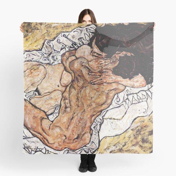 Zwei sich umarmende Frauen Vintage Fine Art Print Egon Schiele