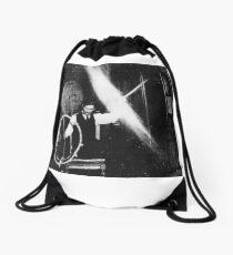 Tesla design Drawstring Bag