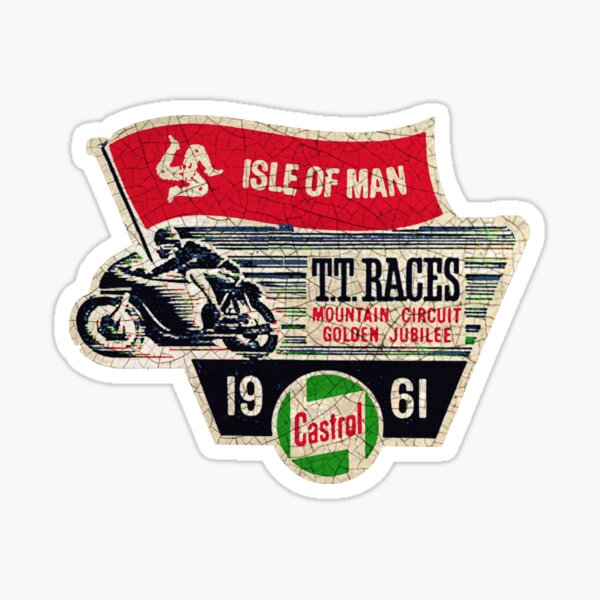 Isle of Man TT races 1961 Sticker