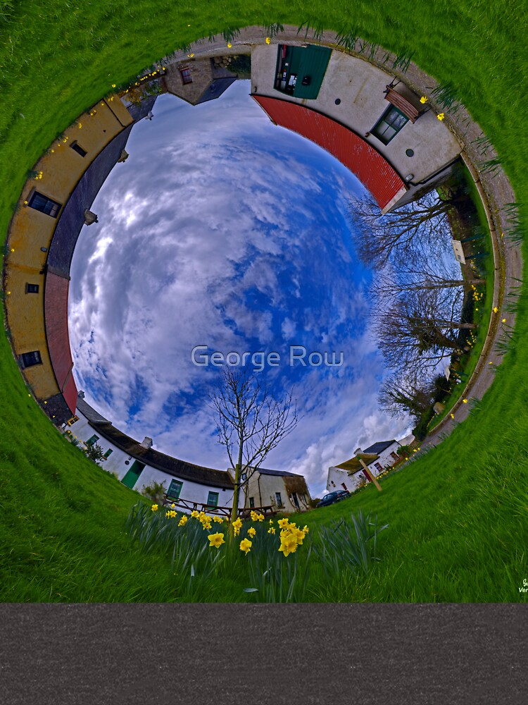 Hanna's Close, County Down (Sky In) by VeryIreland