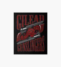 Gilead Gunslingers Art Board