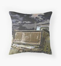 Abandoned Relic Throw Pillow