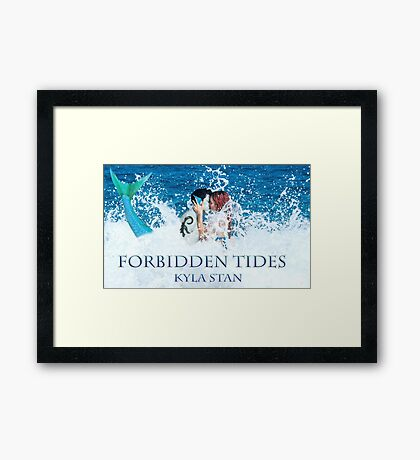 Forbidden Tides Art: Astrid and Zander Framed Print