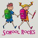 School Rocks by David Dehner