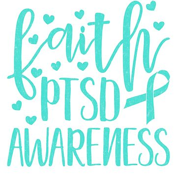 Faith - PTSD Awareness Veterans Support Shirt and Gifts by nvdesign