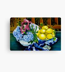 Still LIfe - Oil Painting Canvas Print