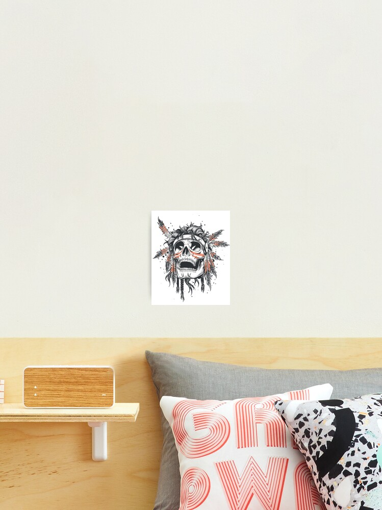 Boys Nursery Print//Indian Headdress Print//Tribal wall Print//Boys wall print