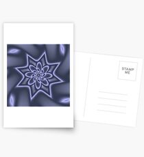 Knotted Purple Postcards