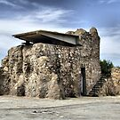 Lookout tower, Bateria de Cenizas, Costa Calida, Spain  by Squealia