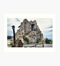Watchtower, Bateria de Cenizas, Costa Calida, Spain  Art Print