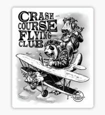 CRASH COURSE - AVIATION Sticker