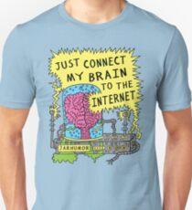Internet Brain Unisex T-Shirt