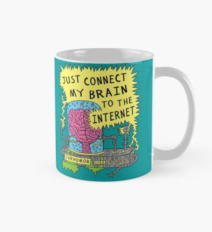 Cerebro de Internet Taza