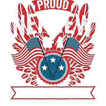 Proud Nephew of a Strong Hispanic Veteran Shirt and Gift by nvdesign