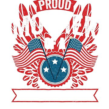 Proud Mother of a Strong Hispanic Veteran Shirt and Gifts by nvdesign