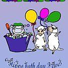 Hippo bath day 2 ewes by Anne van Alkemade