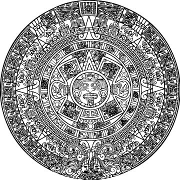 Aztec Calendar Stone by CarterCooper