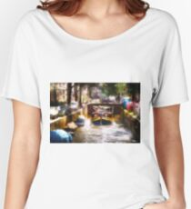 Amsterdam, Holland • Canal Bridge Women's Relaxed Fit T-Shirt