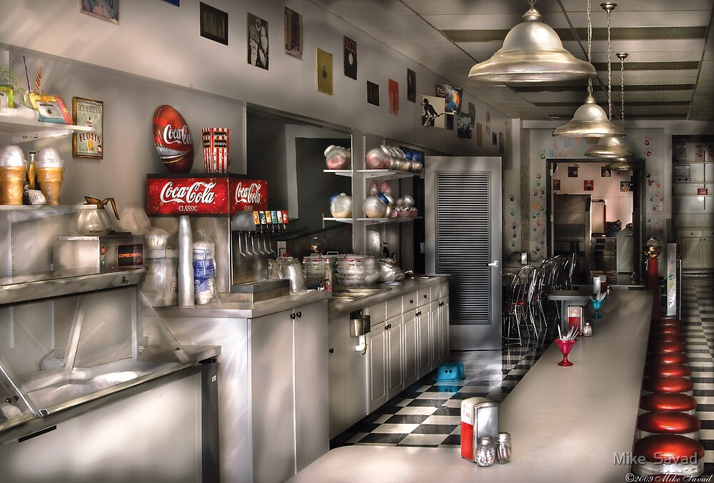 The Soda Fountain  by Michael Savad