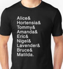 Matilda das Musical - Namen Unisex T-Shirt