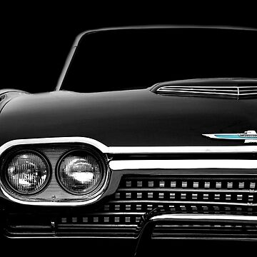 1962 Ford Thunderbird - High Contrast by mal-photography