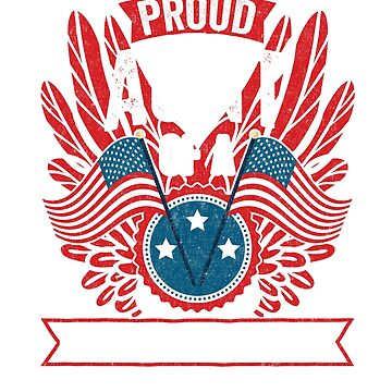Proud Aunt of a Strong Hispanic Veteran Shirt and Gifts by nvdesign