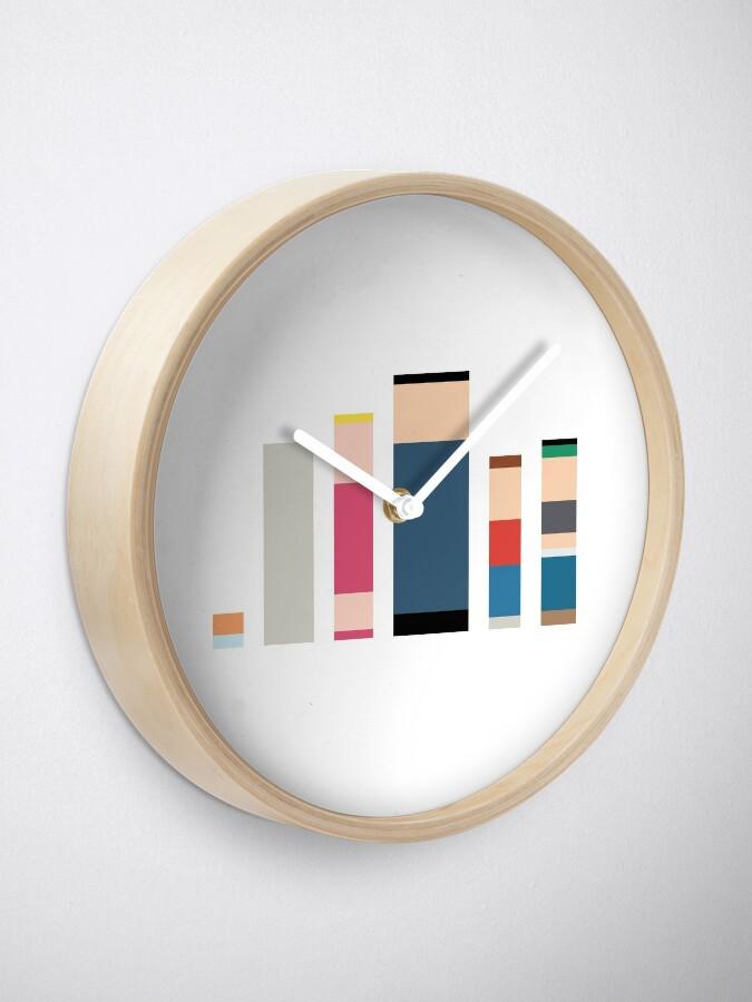 Alternate view of Minimalist American Dad Clock