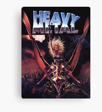 metal movie heavy Canvas Print