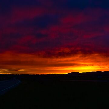 A Hume Highway Sunrise by scatrdjason