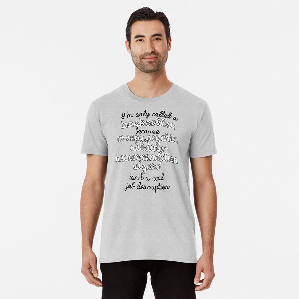 Librería en Name Only Camiseta premium