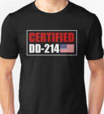 5848138c32 DD-214 Certified Slim Fit T-Shirt