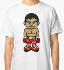 Angry Manny Pacquiao Cartoon by AiReal Apparel Classic T-Shirt
