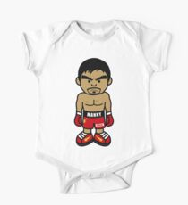 Angry Manny Pacquiao Cartoon by AiReal Apparel One Piece - Short Sleeve
