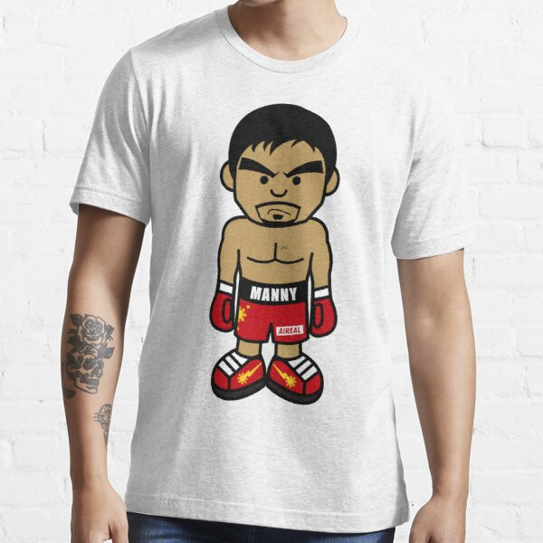 Angry Manny Pacquiao Cartoon by AiReal Apparel Essential T-Shirt