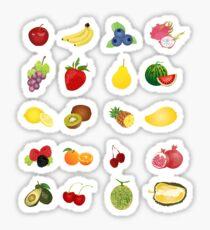 mini fruits sticker pack Sticker