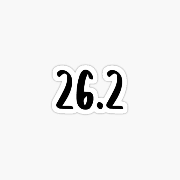 V2 Women/'s Running Shoe Sticker Vinyl Cut Out 13.1 Half Marathon Run Jogging